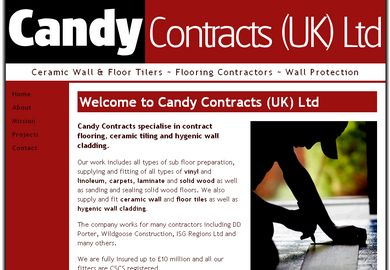 Candy Contracts home page
